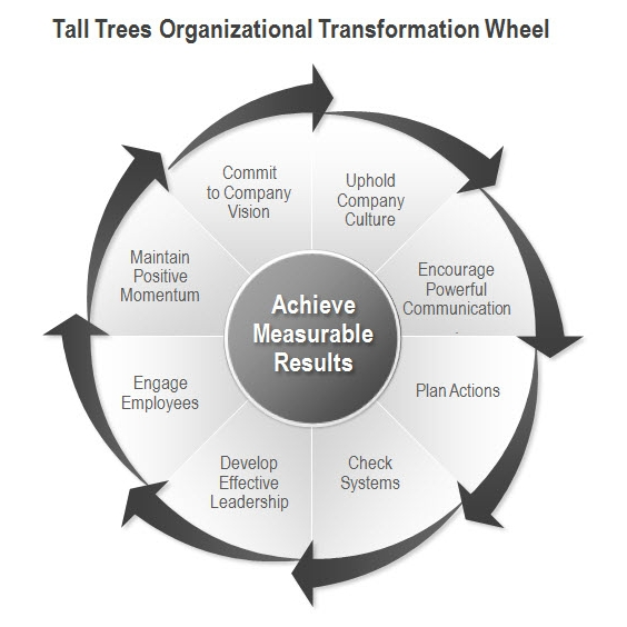 Tall Trees Organizational Transformation Wheel © 2006 - 2015