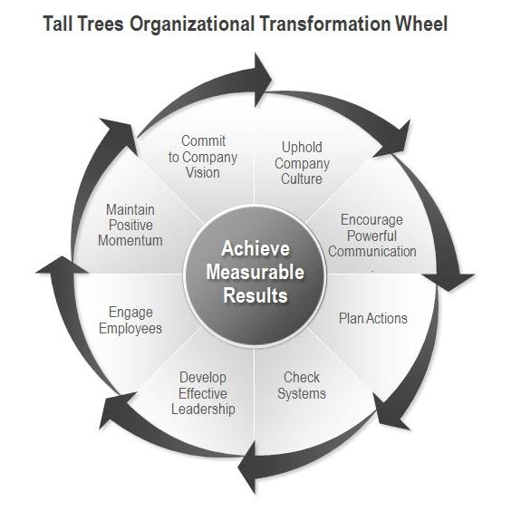 Tall Trees Organizational Transformation Wheel © 2006 - 2015